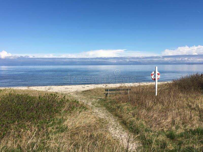North sea, Denmark royalty free stock photography