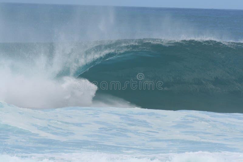North Shore Wave stock photo