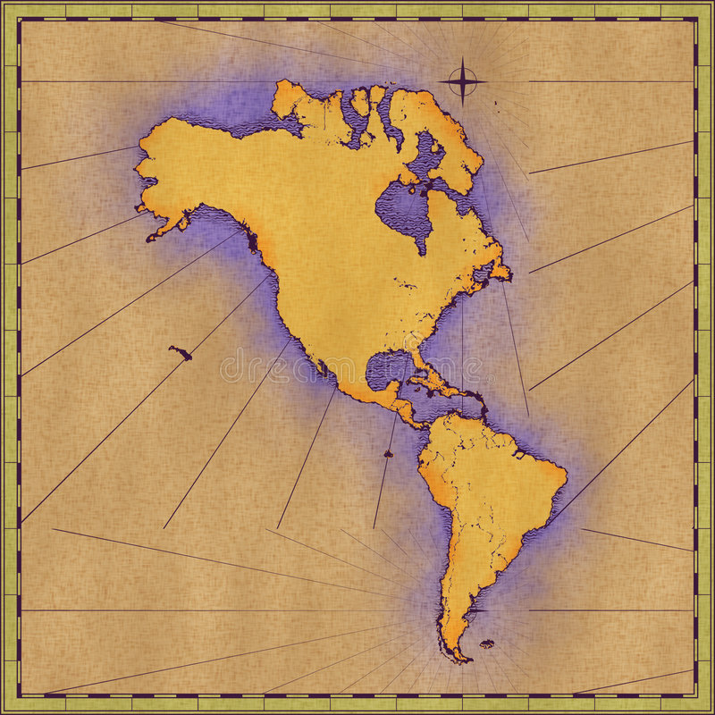 Download North and South America stock illustration. Image of texture - 6877971