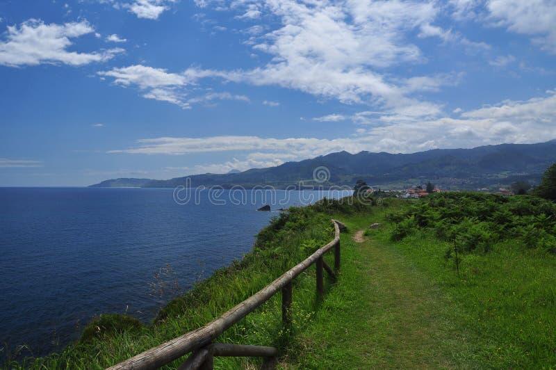 North Spanish coastal path. Asturias