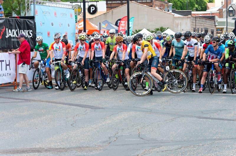 North Star Grand Prix Mens Start stock photo