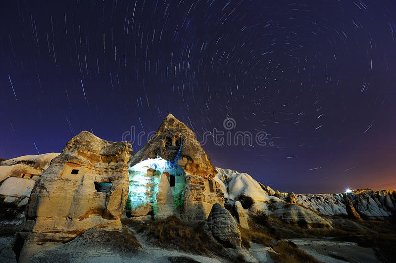 North Star Trails in Cappadocia, Turkey royalty free stock images