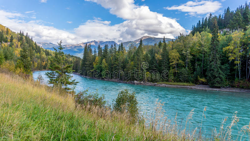 North Thompson River stock images