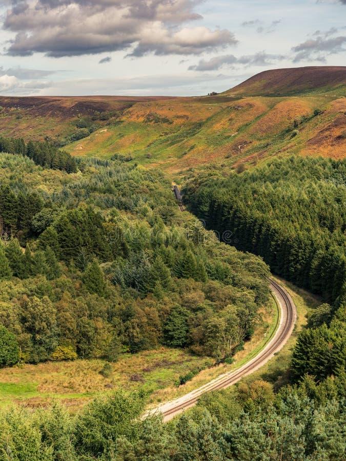 North York Moors landscape, England, UK royalty free stock photography