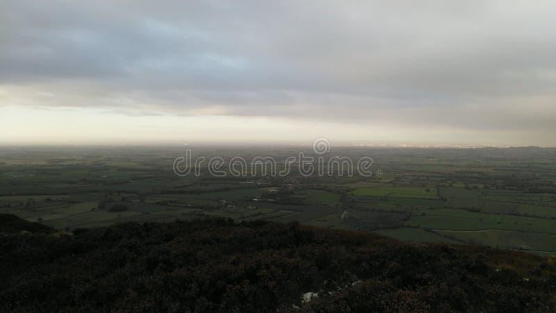 North Yorkshire attracca con i cieli grigi immagine stock libera da diritti