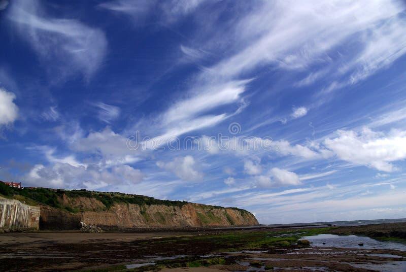 North Yorkshire attracca la costa fotografia stock libera da diritti