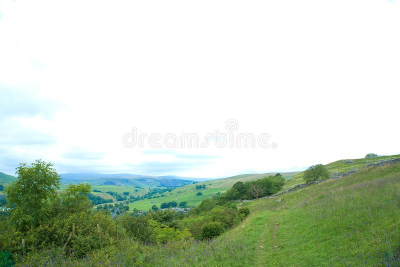 North Yorkshire Hills royalty free stock images