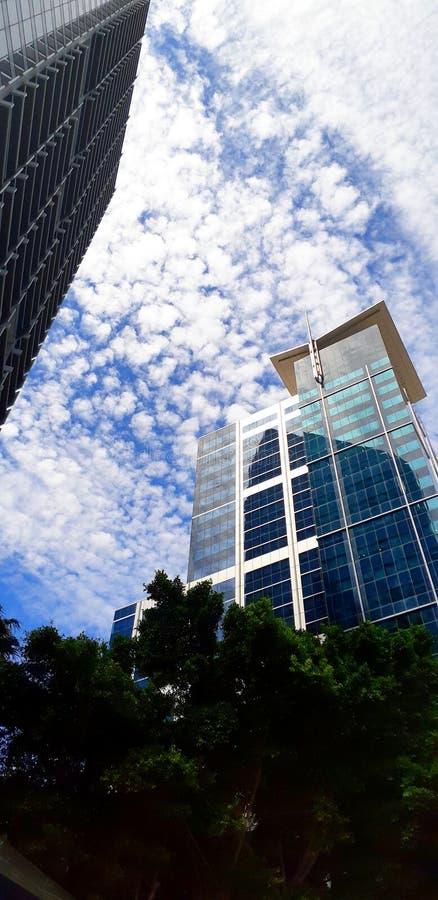Northbridge Perth CBD lizenzfreies stockfoto