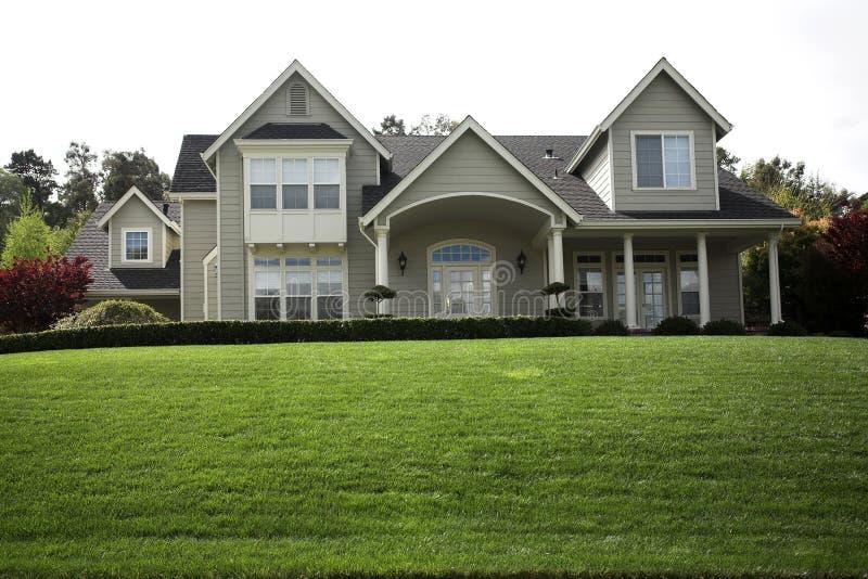 Northern California Subruban Home royalty free stock photography