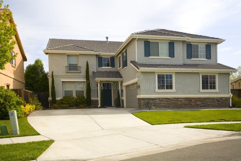 Northern California Subruban Home stock photography