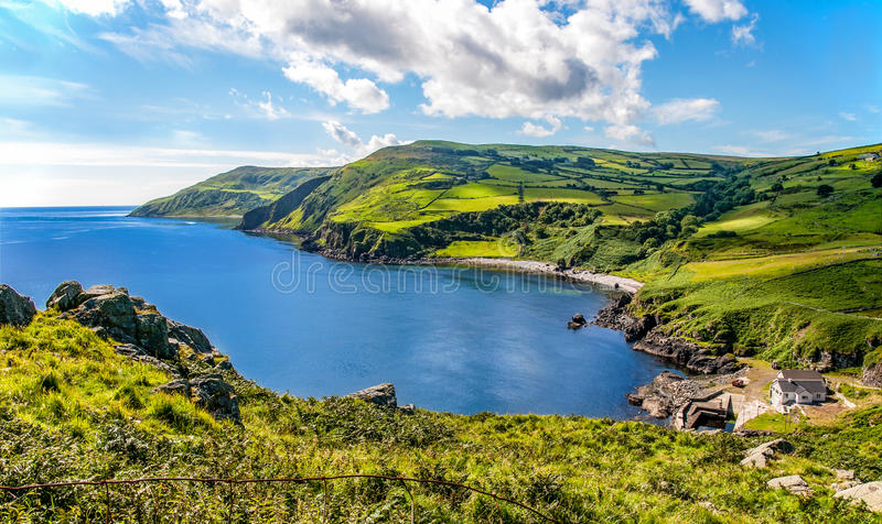 Northern coast of County Antrim, Northern Ireland stock photo
