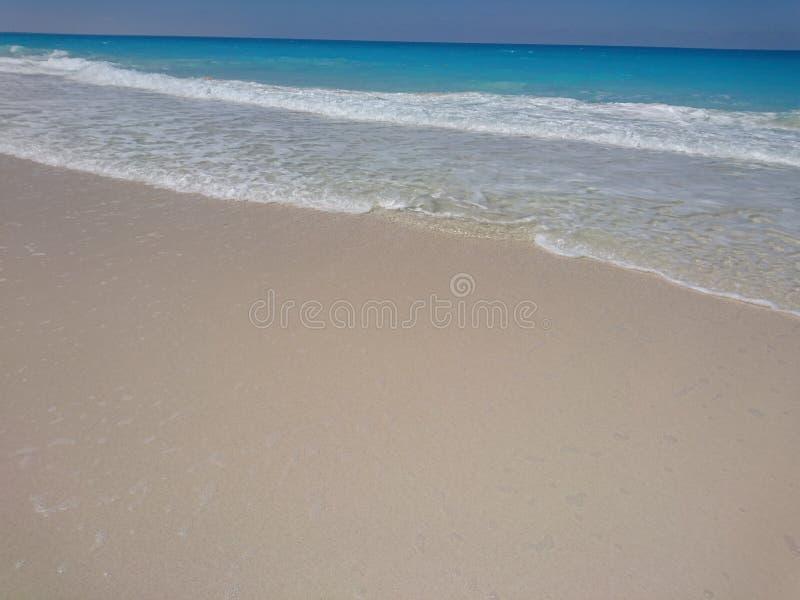 Northern coast of Egypt stock photography