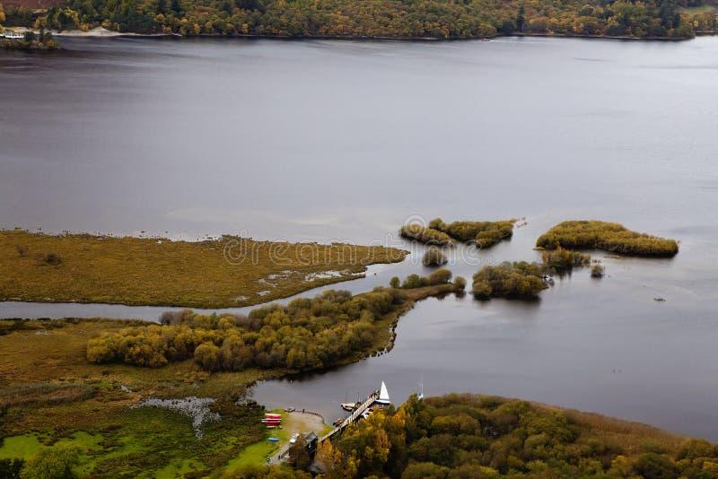 Download Northern Derwent Water stock image. Image of horizontal - 16880197