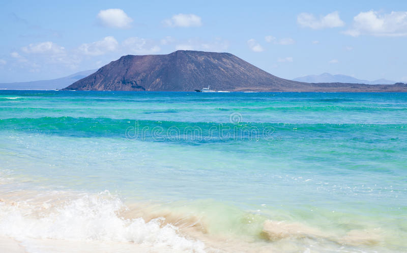 Northern Fuerteventura royalty free stock images