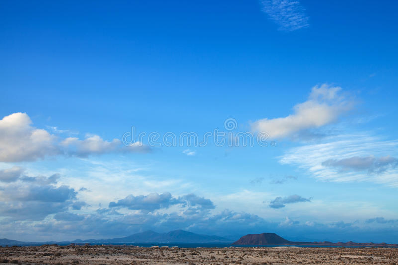 Northern Fuerteventura royalty free stock photos