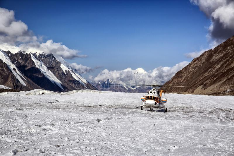 Central Tien Shan. royalty free stock photography