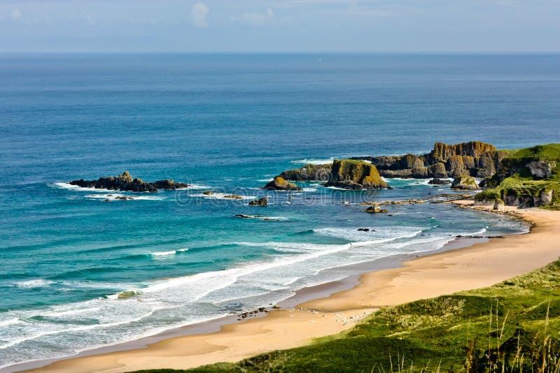 Northern Ireland Antrim Coast stock image