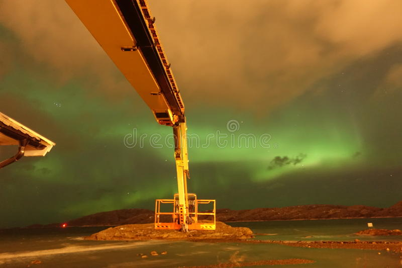 Northern Light royalty free stock image