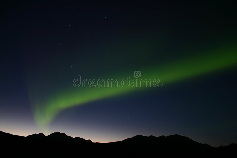 Northern Lights 3 stock image