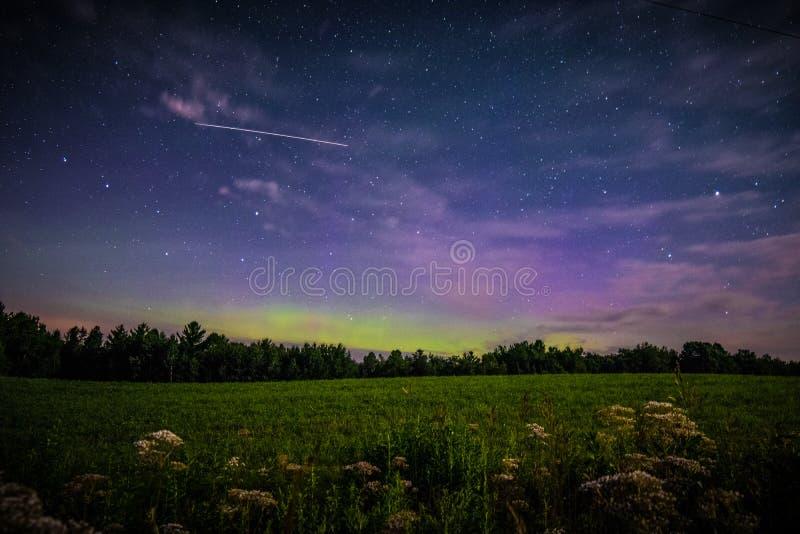 The Northern Lights stock image
