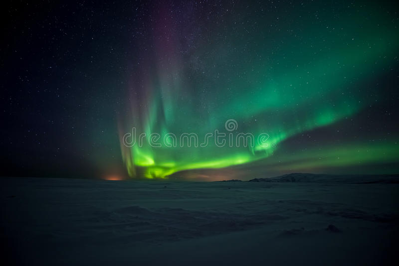 Download Northern Lights Aurora Borealis Stock Photo - Image: 59178548