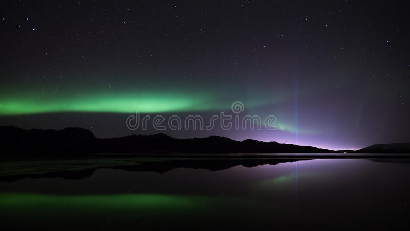 Download Northern Lights & The Peace Tower Stock Photo - Image: 34894394