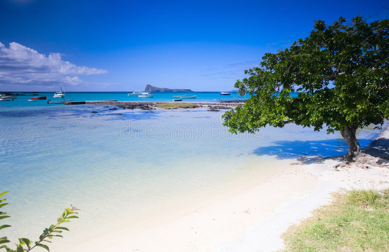 Northern Mauritius royalty free stock image
