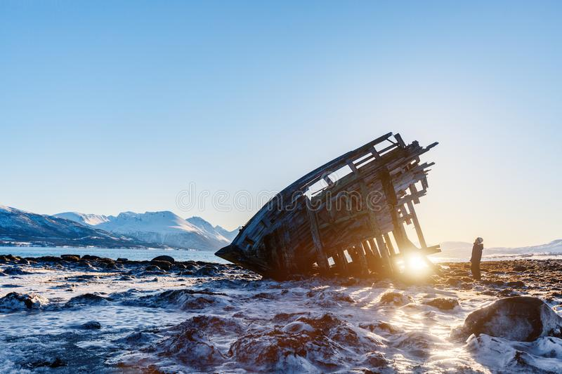 Northern Norway royalty free stock image