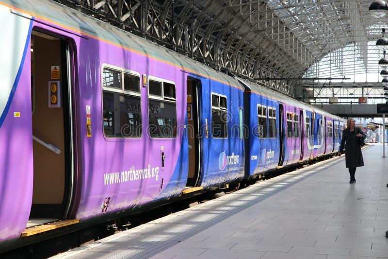 Northern Rail UK imagem de stock royalty free