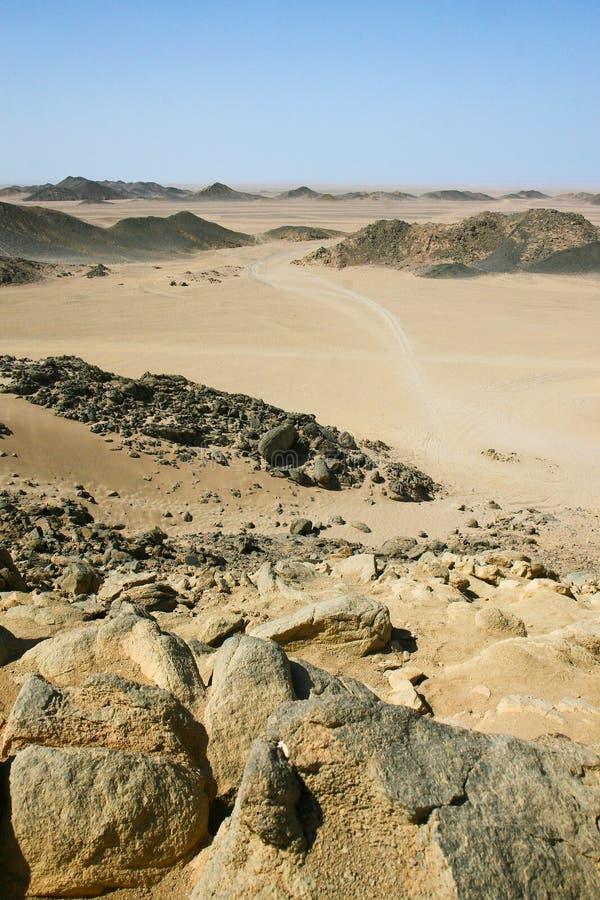 Northern Sahara Desert royalty free stock images