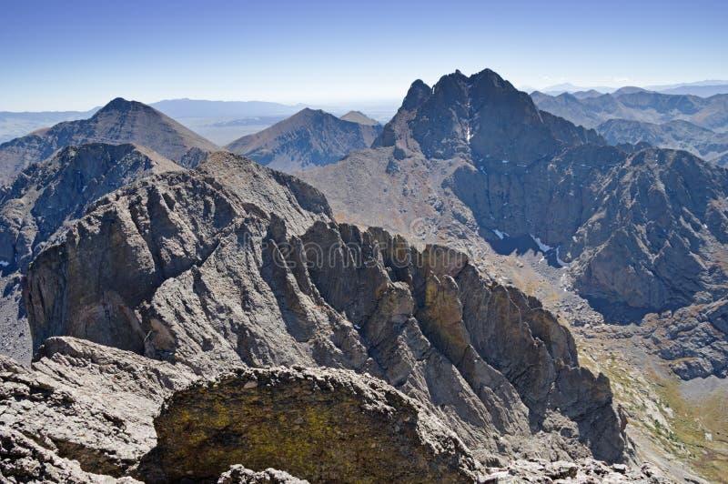 Northern Sangre de Cristo Peaks στοκ εικόνα με δικαίωμα ελεύθερης χρήσης