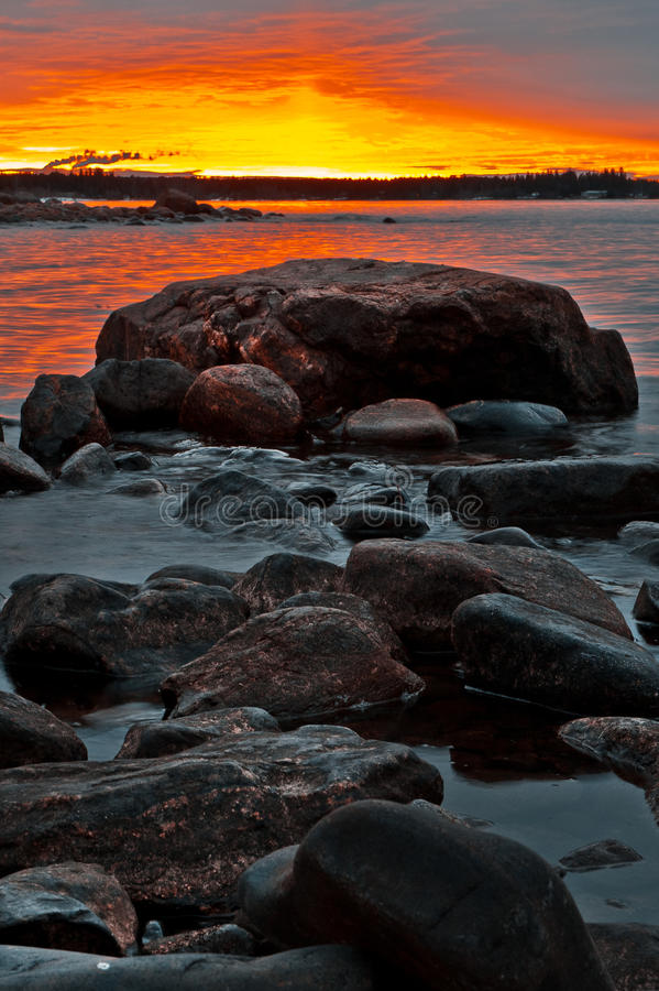 Northern Shoreline Royalty Free Stock Photo