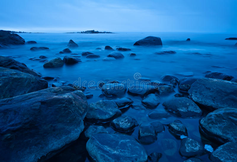 Download Northern shoreline stock image. Image of chilly, background - 14235391