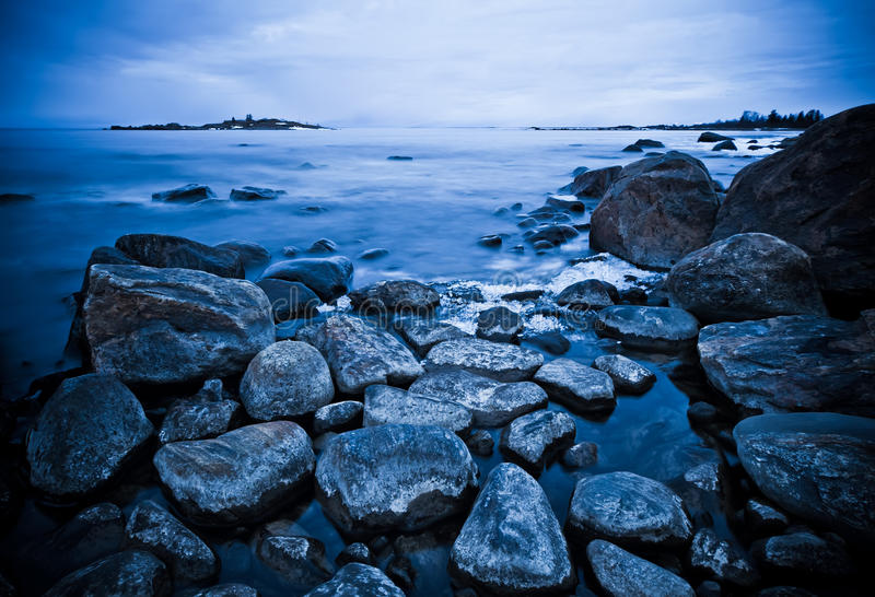 Download Northern shoreline stock image. Image of northern, setting - 14252087