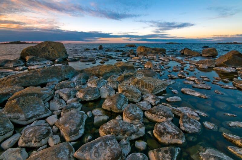 Northern Shoreline Royalty Free Stock Image
