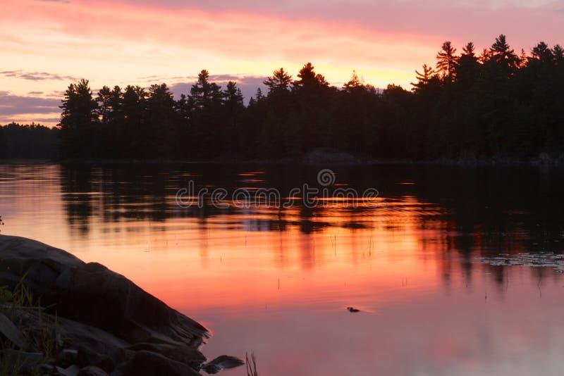 Download Northern Sunrise stock photo. Image of scenic, still - 26472592
