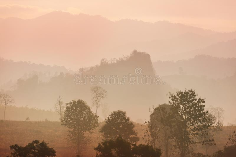 Northern Thailand. Rural landscapes in Northern Thailand stock photos