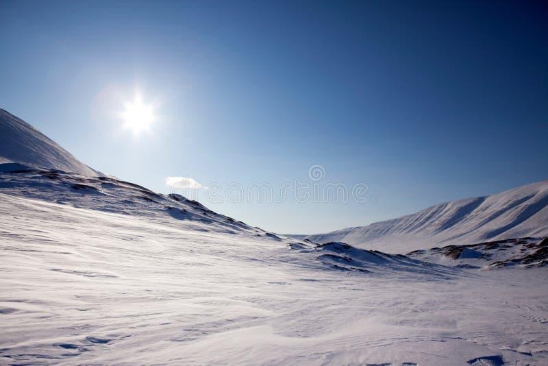 Northern Winter Landsacpe stock photo