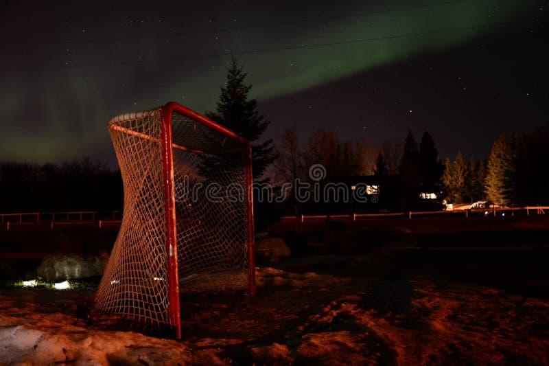 NorthernLights nel marzo 2015 fotografie stock