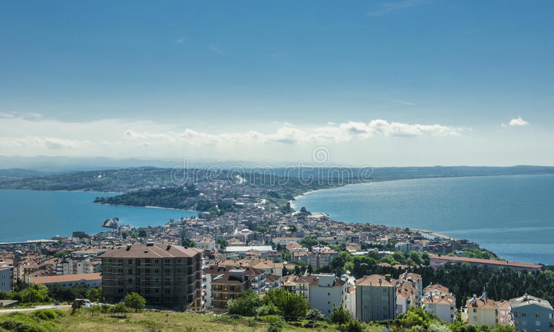 The northernmost city of Turkey; Sinop. Sinop Province is a province of Turkey, along the Black Sea royalty free stock images
