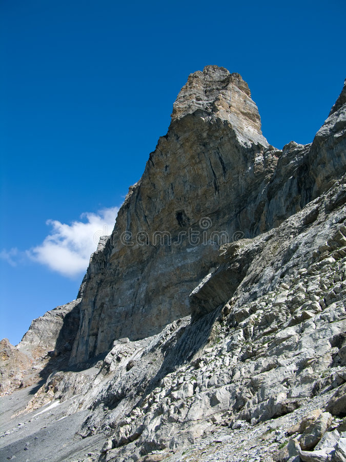 northface eiger alps стоковое фото rf