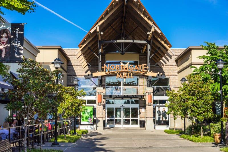 Northgatewandelgalerij Seattle Washington royalty-vrije stock foto