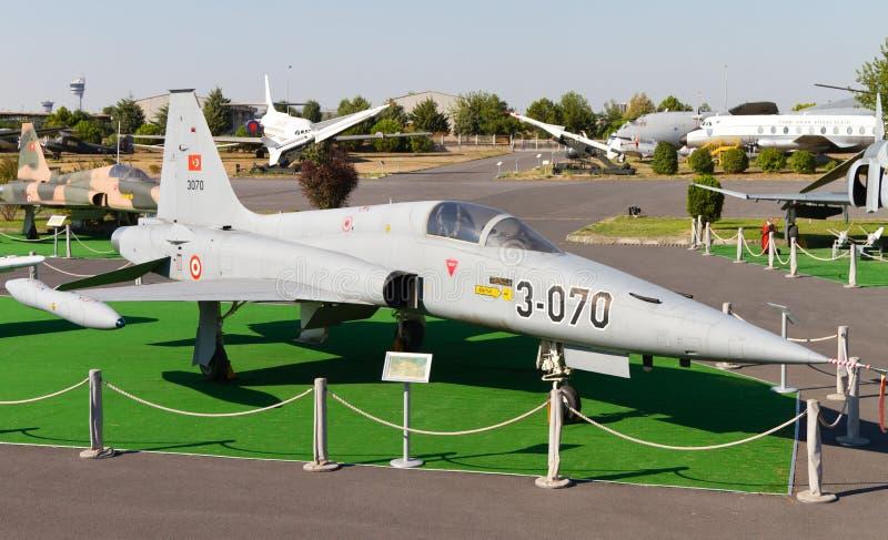 Northrop NF-5A frihetskämpe arkivbilder