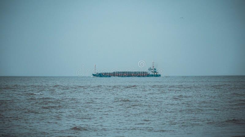 Northsea海岸 图库摄影