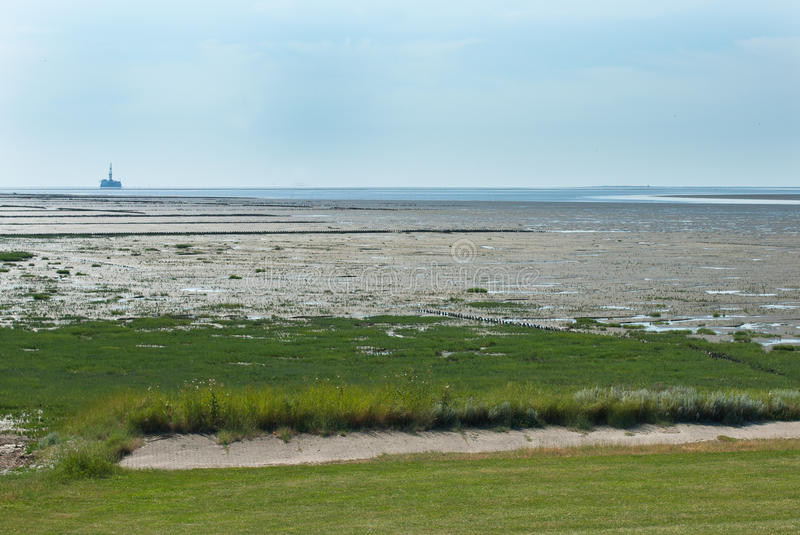 Download Northsea Landscape During Ebb Stock Photo - Image: 27705178
