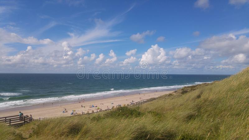 Northsea on Sylt royalty free stock photography