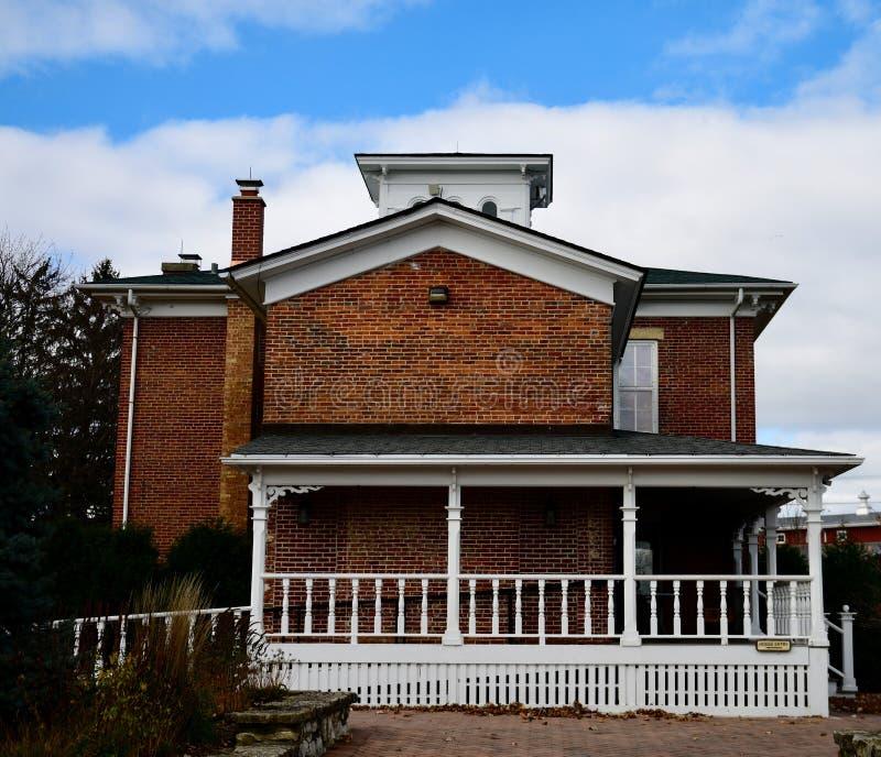 Northside de Eli Peck House foto de stock royalty free