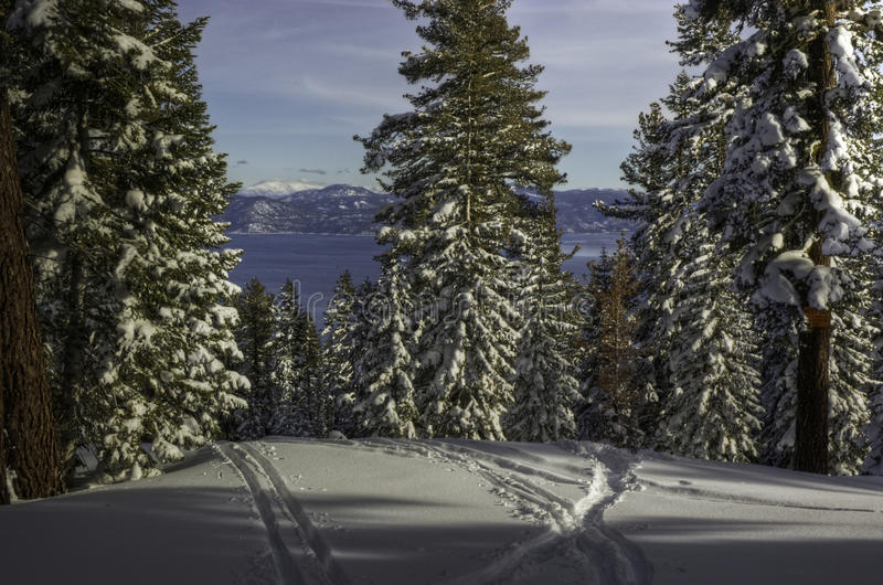 northstar tahoe λιμνών στοκ εικόνες
