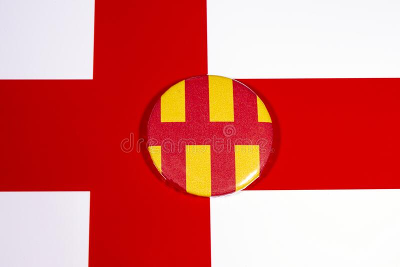 Northumberland in Inghilterra immagine stock libera da diritti