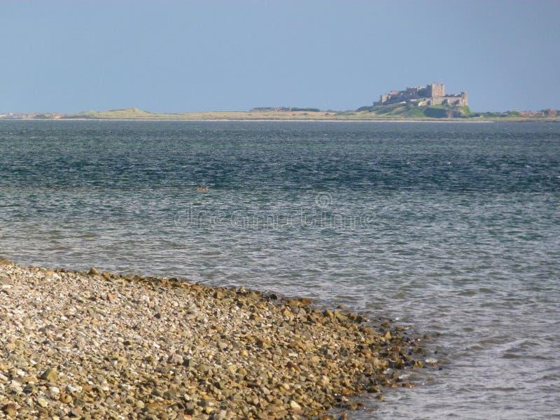 Northumberland plaża zdjęcia stock